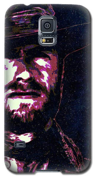 Clint Eastwood Portrait Poster Retro Print Wall Decor Galaxy S5 Case