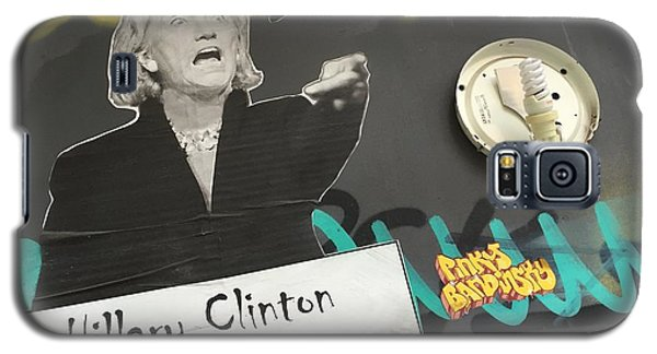 Clinton Message To Donald Trump Galaxy S5 Case by Funkpix Photo Hunter