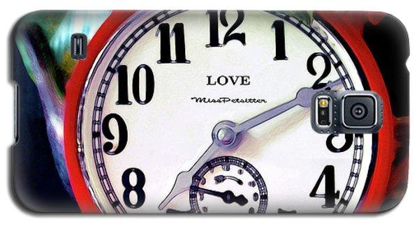 Clock In The Garden  4 Galaxy S5 Case