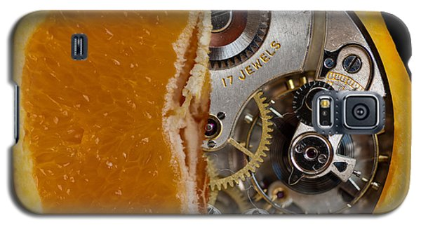 Galaxy S5 Case featuring the photograph Clockwork Orange by Brian Roscorla