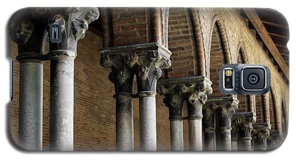 Galaxy S5 Case featuring the photograph Cloister Detail, Couvent Des Jacobins by Elena Elisseeva