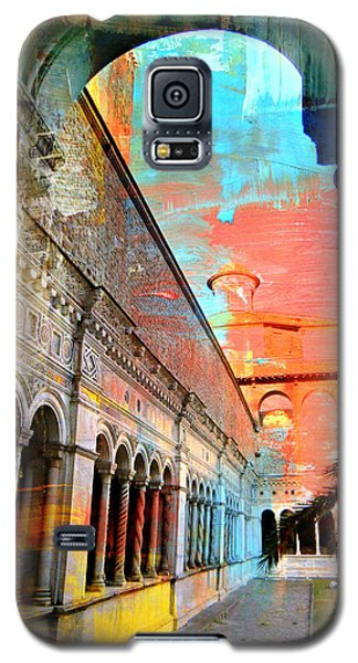 Cloister In Rome Galaxy S5 Case by Mindy Newman