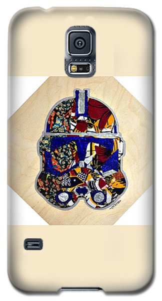 Galaxy S5 Case featuring the tapestry - textile  Clone Trooper Star Wars Afrofuturist by Apanaki Temitayo M