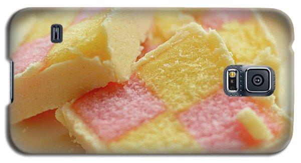 Close Up Of Battenberg Cake E Galaxy S5 Case