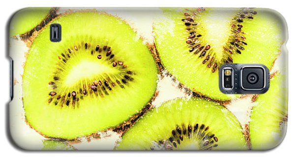 Close Up Of Kiwi Slices Galaxy S5 Case
