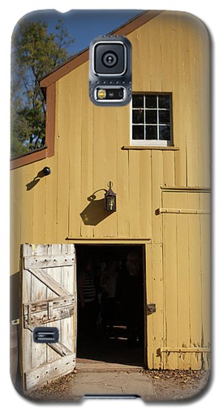 Close Up Of Landis Valley Yellow Barn Galaxy S5 Case