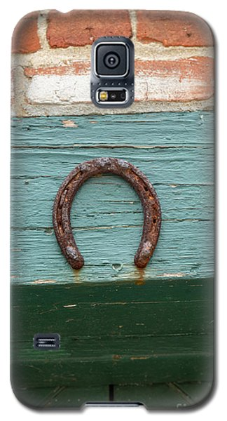 Close Up Of Rusty Horseshoe Galaxy S5 Case