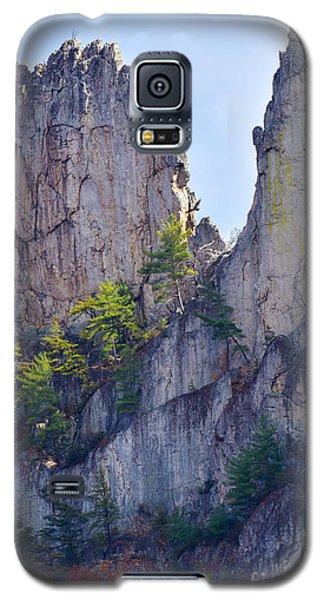 Close-up Of Seneca Rocks Top Edge Galaxy S5 Case