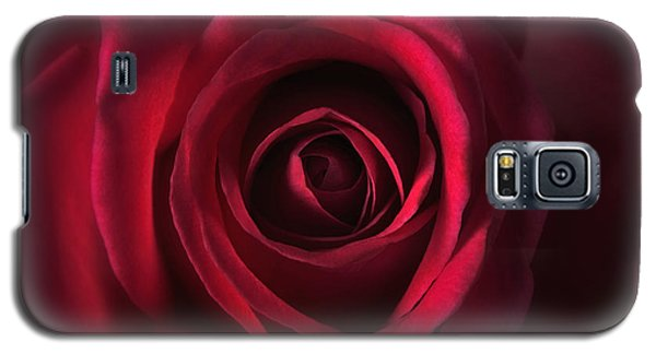 Galaxy S5 Case featuring the photograph Close Up Red Roses Flowers Art Work Photography by Artecco Fine Art Photography