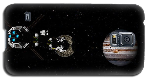 Galaxy S5 Case featuring the digital art Closer Still by David Robinson