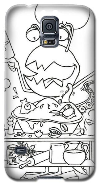 Closet Monster Baking Galaxy S5 Case