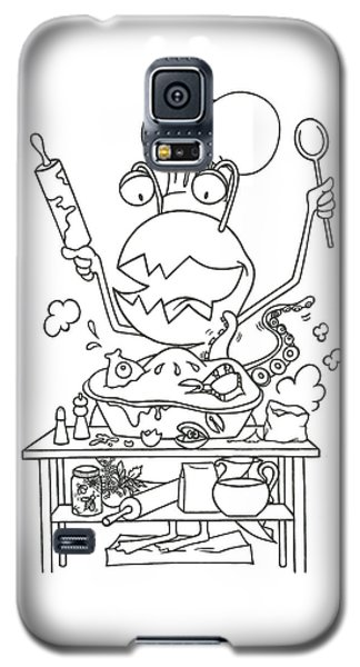 Closet Monster Baking Galaxy S5 Case