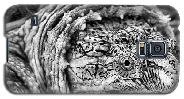 Galaxy S5 Case featuring the photograph Closeup Of A Snapping Turtle by JC Findley
