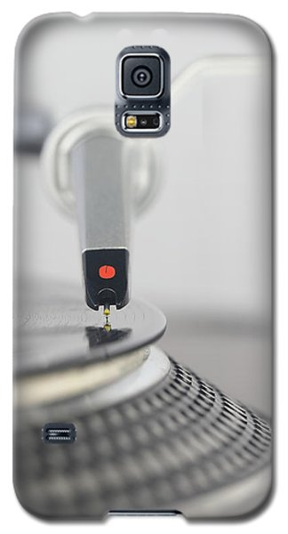 Closeup Of The Legendary Technics Sl 1200 Mk2 Turntable Galaxy S5 Case