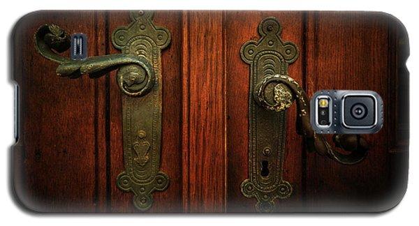 Closeup Of Two Ornamented Handles Galaxy S5 Case by Jaroslaw Blaminsky