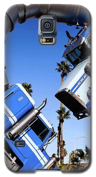 Closeup On Big Rig Jig Galaxy S5 Case