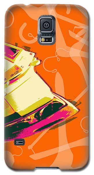 Clothes Iron Pop Art Galaxy S5 Case
