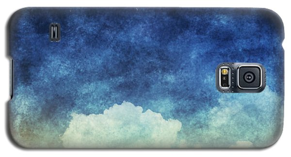 Moon Galaxy S5 Cases - Cloud And Sky At Night Galaxy S5 Case by Setsiri Silapasuwanchai
