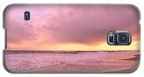 Galaxy S5 Case featuring the photograph Cloud And Water by Karen Silvestri