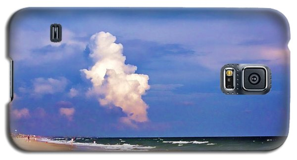 Galaxy S5 Case featuring the photograph Cloud Approaching by Roberta Byram