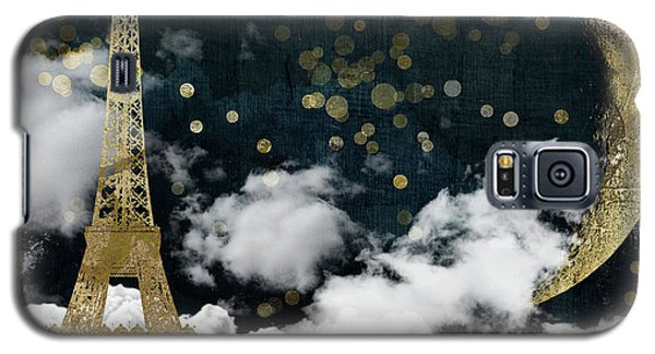 Cloud Cities Paris Galaxy S5 Case by Mindy Sommers