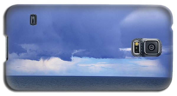 Galaxy S5 Case featuring the photograph Cloud Curtain by Nareeta Martin