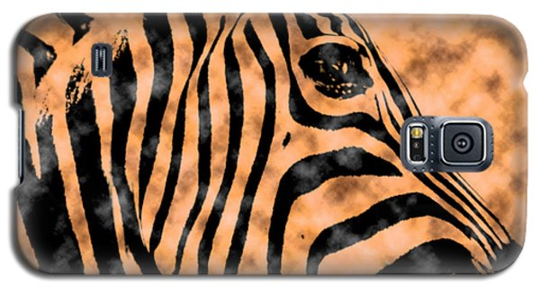 Cloud Face Zebra Galaxy S5 Case