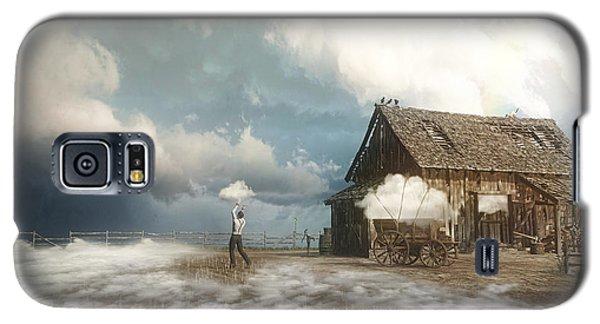 Finch Galaxy S5 Case - Cloud Farm by Cynthia Decker