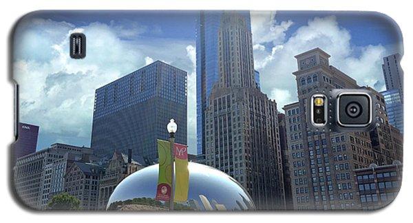 Cloud Gate In Chicago Galaxy S5 Case