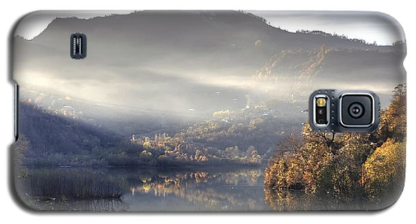 Galaxy S5 Case featuring the photograph Mist In The Evening by Gouzel -