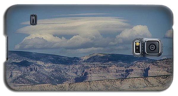 Galaxy S5 Case featuring the photograph Cloud On Route 6 by R Thomas Berner