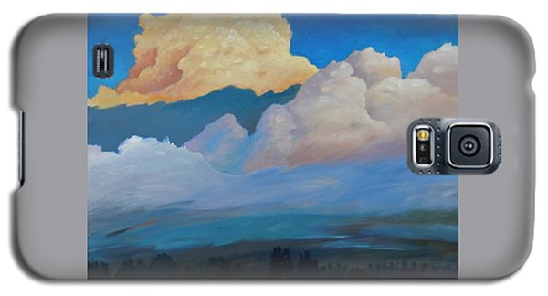 Galaxy S5 Case featuring the painting Cloud On The Rise by Gary Coleman
