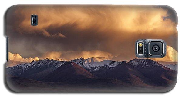 Cloud Over Namtso Galaxy S5 Case