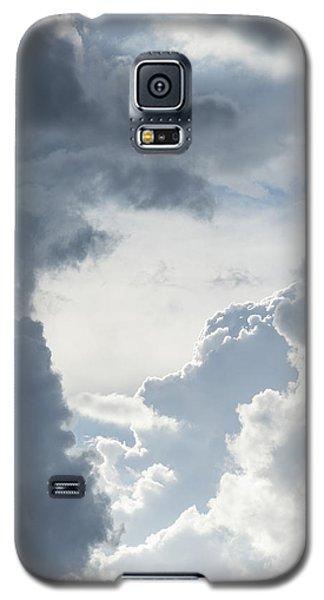 Cloud Painting Galaxy S5 Case by Laura Pratt