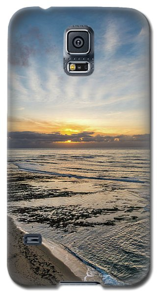 Cloud Rays Vertical Galaxy S5 Case