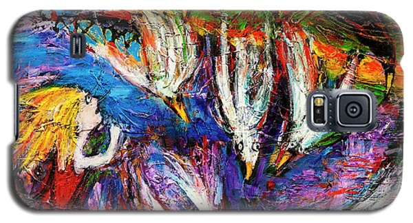 Cloud Street - Geraldton Seagulls Galaxy S5 Case