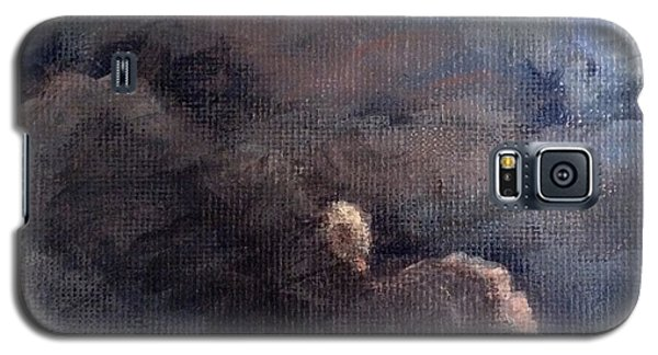 Galaxy S5 Case featuring the painting Cloud Study #1 by Jessica Tookey