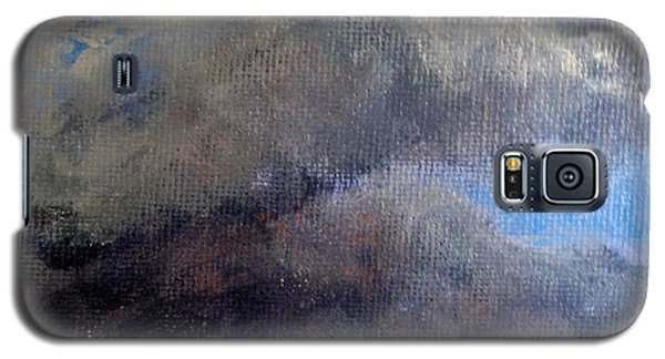 Galaxy S5 Case featuring the painting Cloud Study #2 by Jessica Tookey