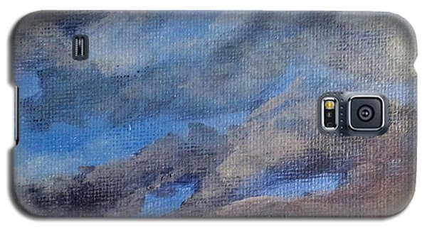 Galaxy S5 Case featuring the painting Cloud Study #3 by Jessica Tookey