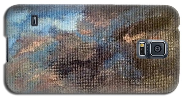 Galaxy S5 Case featuring the painting Cloud Study #4 by Jessica Tookey