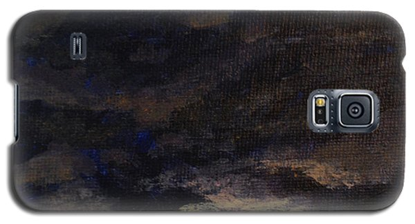 Galaxy S5 Case featuring the painting Cloud Study #5 by Jessica Tookey