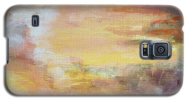 Galaxy S5 Case featuring the painting Cloud Study #6 by Jessica Tookey