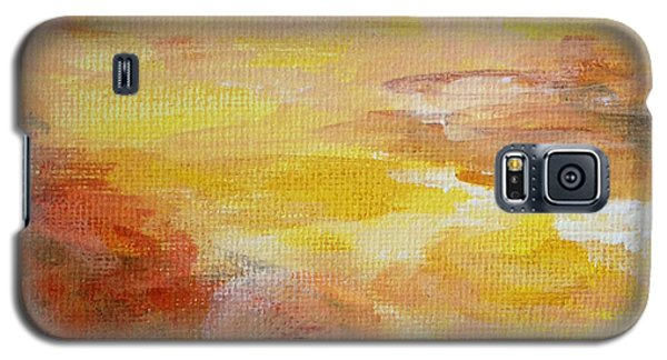 Galaxy S5 Case featuring the painting Cloud Study #7 by Jessica Tookey