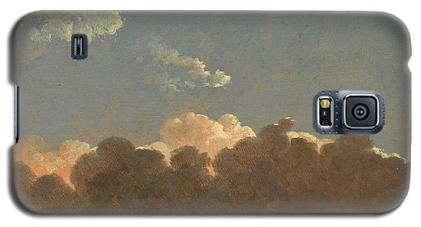 Galaxy S5 Case featuring the painting Cloud Study. Distant Storm by Simon Denis