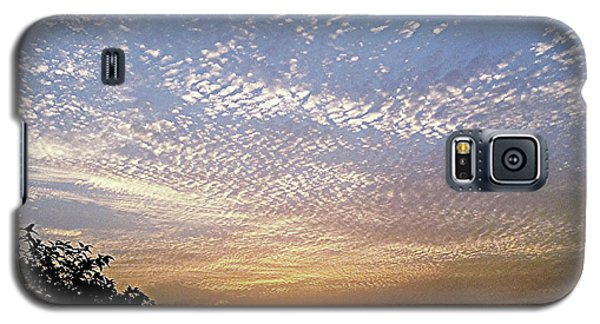 Cloud Swirl At Sunrise Galaxy S5 Case