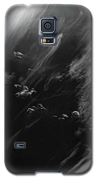 Galaxy S5 Case featuring the photograph Cloud Wisp by Britt Runyon