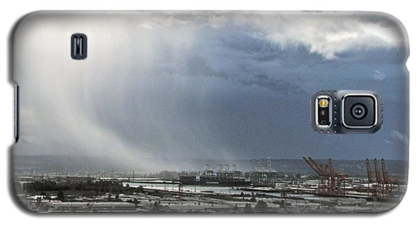 Galaxy S5 Case featuring the photograph Cloudburst - Tacoma by Sean Griffin
