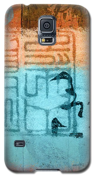 Galaxy S5 Case featuring the photograph Clouded Calligraphy by Carol Leigh