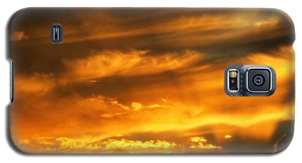 Clouded Sunset Galaxy S5 Case by Kyle West