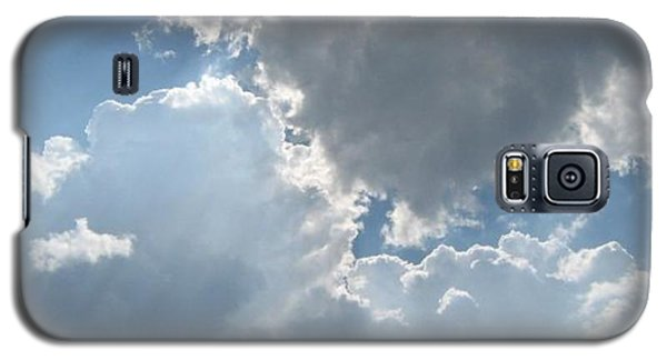 Galaxy S5 Case featuring the photograph Clouds 1 by Barbara Yearty